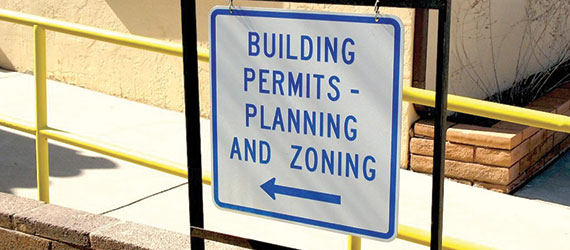 Apply for a building permits