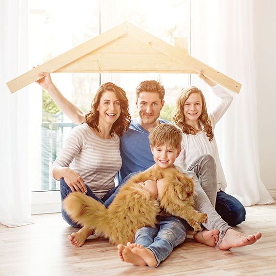 Start a fresh life in your new home!